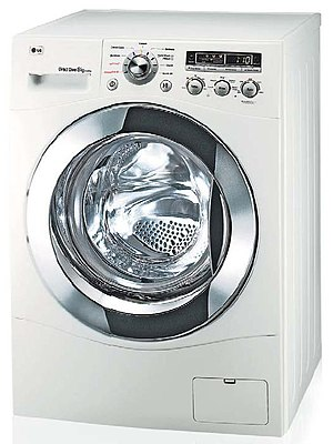 Major appliance - A modern front-loading washing machine