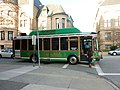 LRTA green bus; door open; Lowell, MA; 2011-12-08.JPG
