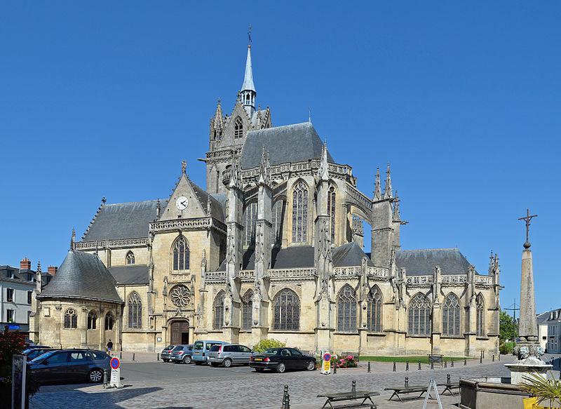 File:La Ferte Bernard - Eglise ND Marais 15.jpg