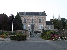 The town hall of La Gravelle