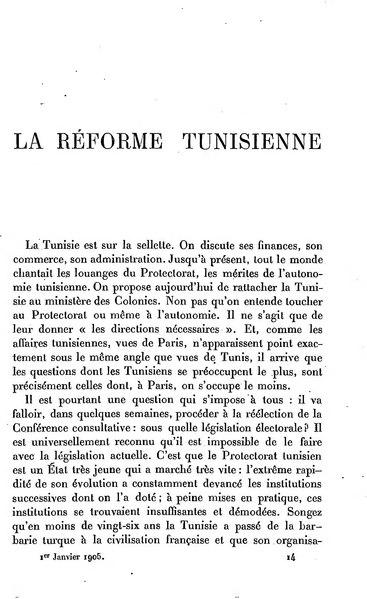 File:La Revue de Paris A12 T1 La réforme tunisienne.djvu