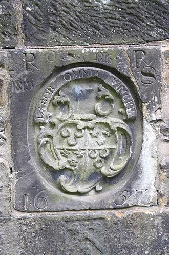 Labor omnia vincit - Labor Omnia Vincit 1657, Glasgow Cathedral