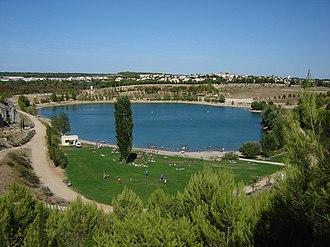 Canton of Le Crès - The lake of Crès