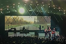 Lady Antebellum performing in Cuyahoga Falls, OH.jpg