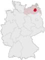 Lage des Landkreises Demmin in Deutschland.png