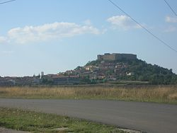 View of Castel Lagopesole
