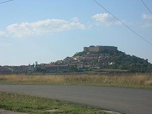 Avigliano - View of Castel Lagopesole.