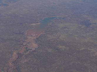 Lake Meredith National Recreation Area - Image: Lake Meredith Aerial 2