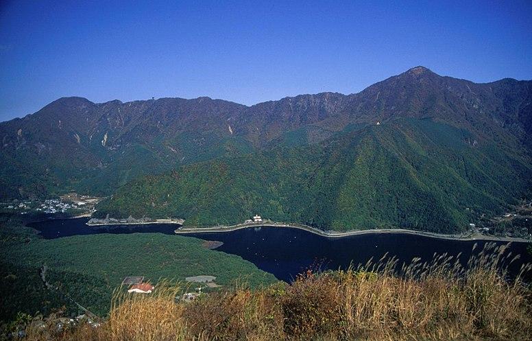 Lake Sai and Aokigahara from Koyodai