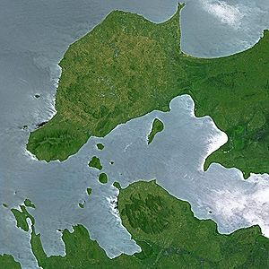Lake Victoria by SPOT Satellite