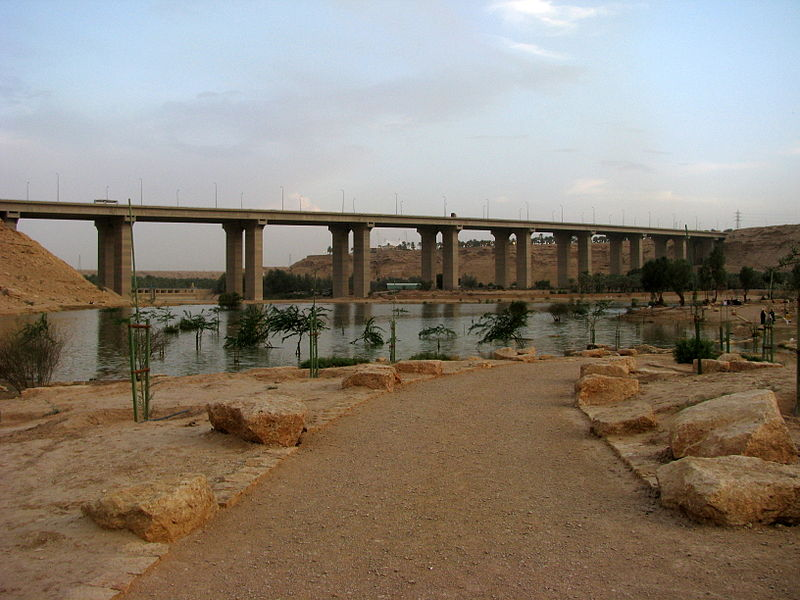 ملف:Lake at Wadi Hanifah (5218227168).jpg