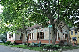 Lakeside, Ohio - Bradley Temple, a meetinghouses in Lakeside used primarily for children's activities.
