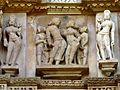 Lakshmana Temple Western Group of Temples Khajuraho India - panoramio (17).jpg