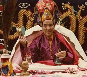 Lama Gonpo Tseten - Lama Gönpo Tseten Rinpoche, photo taken circa 1979-1980 in the U.S.A.