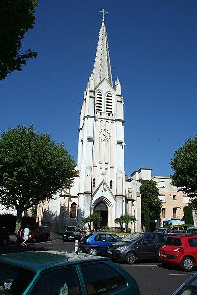 Lamalou-les-Bains - Hérault - église Saints-Pierre-et-Paul.