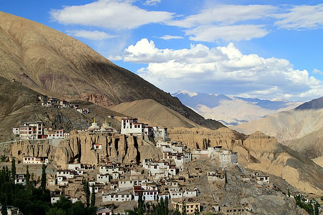 Visitar Leh y Ladakh - Monasterio Lamayuru