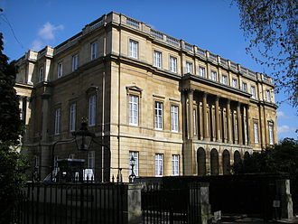 Mortimer Wheeler - Lancaster House, where London Museum was based
