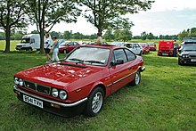 Photographie d'une Lancia Beta HF coupé VX à compresseur Volumex