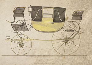 Landau (carriage) - Image: Landau carriage, 1816