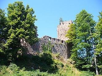 Château du Landsberg - Image: Landsberg ostansicht