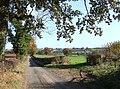 Lane from Moorbrook Farm, Shropshire - geograph.org.uk - 606612.jpg