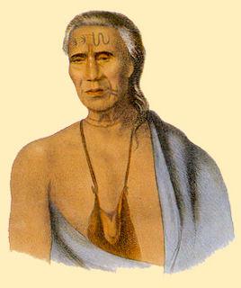 Lappawinsoe Lenape Chief