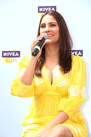 Lara Dutta - Lara Dutta launches NIVEA Sun in 2011