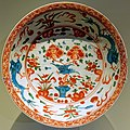 Large dish, Swatow ware, China, Fujian province, Ming dynasty, Wanli period, c. 1600, porcelain, polychrome enamel - Montreal Museum of Fine Arts - Montreal, Canada - DSC09657.jpg