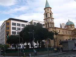 Edifícios restaurados na região da Estação Júlio Prestes, divisa com o Bom Retiro.