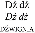 "Latin small and capital letter ""dz"" with acute.jpg"