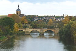 Neckar bridge at Lauffen