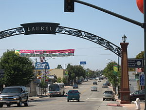 Laurel, Oakland, California - MacArthur Boulevard, the heart of the Laurel district