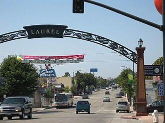 Laurel, Oakland, California - MacArthur Boulevard, the heart of the Laurel district