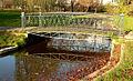 Lavesbrücke im Welfengarten Frontal Seite Spiegelung.jpg