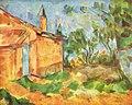 Le Cabanon de Jourdan, par Paul Cézanne, Yorck.jpg