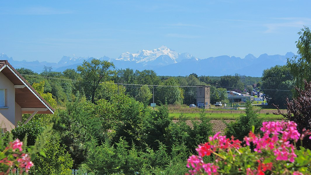 Le Mont Blanc de jour