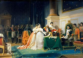 Divorce - Joséphine, first wife of Napoleon, obtained the civil dissolution of her marriage under the Napoleonic Code of 1804.
