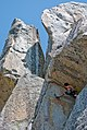 Lean and Mean (5.9) - Eagle Rock - Kyburz, California.jpg