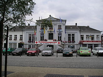 Lebbeke - Image: Lebbeke Gemeentehuis