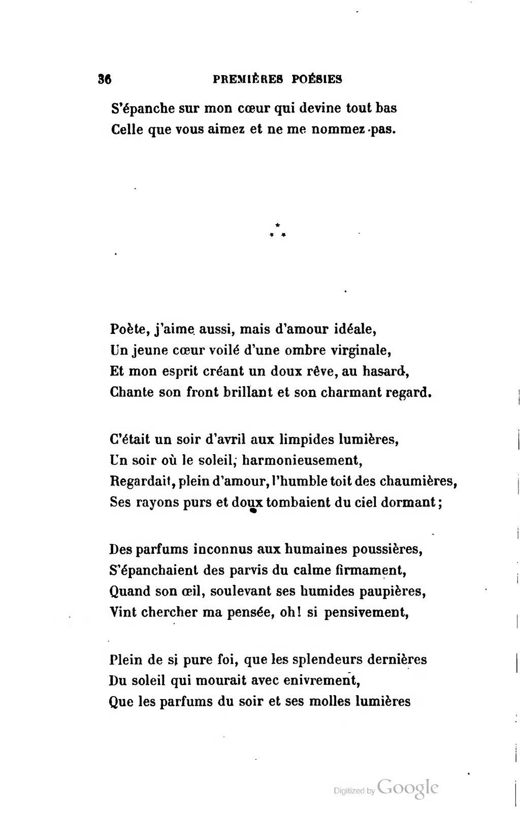 Pageleconte De Lisle Premières Poésies Et Lettres Intimes