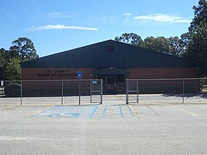 Lee County, Georgia - Lee County School District headquarters