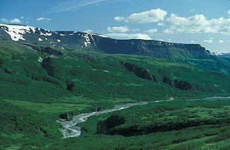 Izembek National Wildlife Refuge - Image: Lefthand Valley Wilderness Area