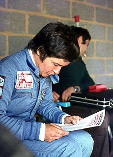 Lella Lombardi Italian racecar driver