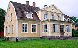 Det gamle tinghus i Lenhovda