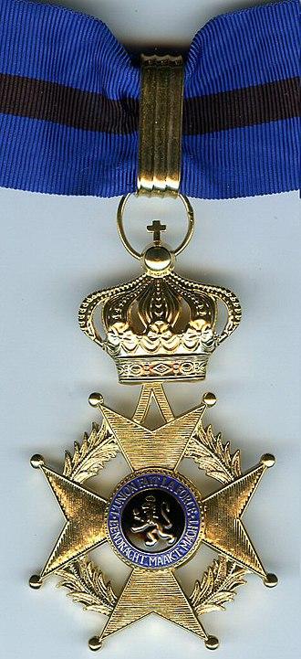 Order of Leopold II - Image: Leo 2 commander