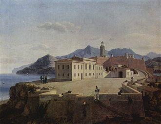 Portoferraio - Napoleon in Portoferraio, Leo von Klenze, 1839.