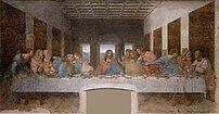 The Last Supper in Milan (1498), by Leonardo d...