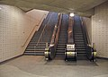 Leslie TTC escalators.jpg