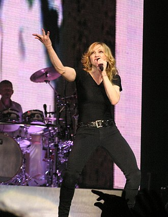 "Confessions Tour - Madonna performing ""Let It Will Be"" during the third act of the tour."