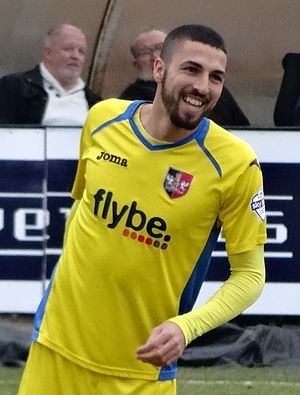 Liam Sercombe - Sercombe playing for Exeter City in 2015
